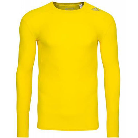 17 x adidas Performance Mens TechFit Long Sleeve Compression T-Shirts (S95671) rrp£40 - Only £7.99