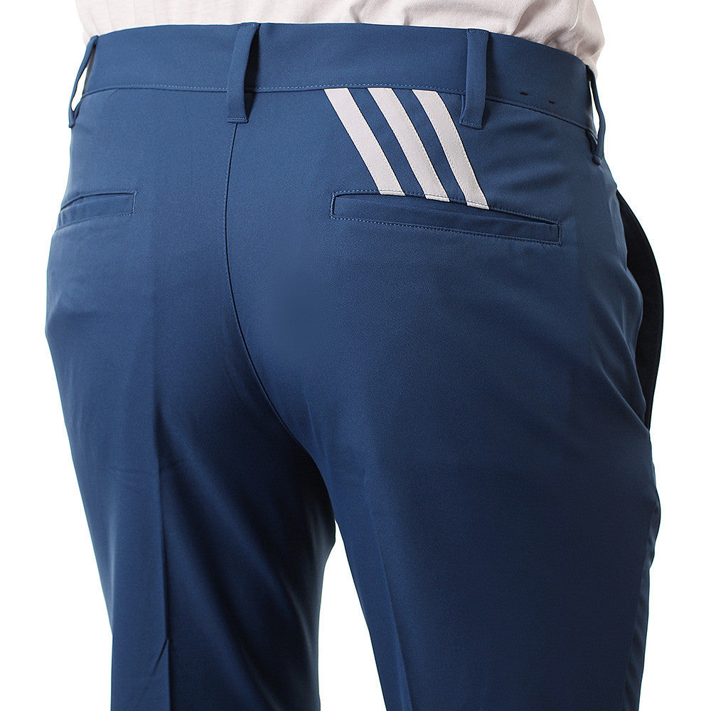 Last 7 x adidas Mens PureMotion Stretch 3-Stripe Golf Trousers AE6286 rrp£60 Now £17.99