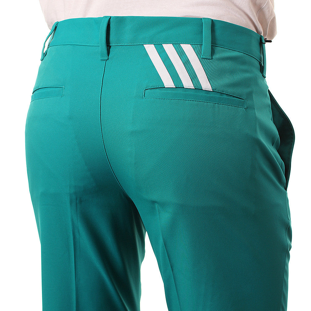 Last 6 x adidas Mens PureMotion Stretch 3-Stripe Golf Trousers AE6287 rrp£60 Now £17.99