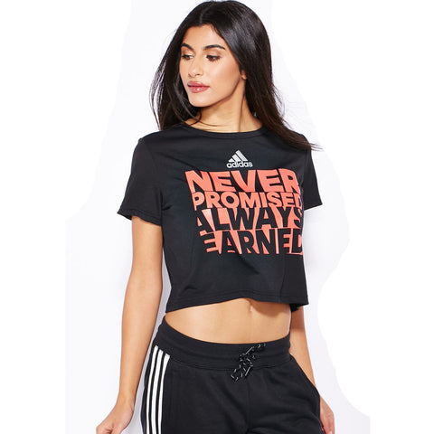 Last 8 x adidas Women's Always Earned T-Shirt (AI6116) rrp£25, Selling at an Amazing £2.50!!!