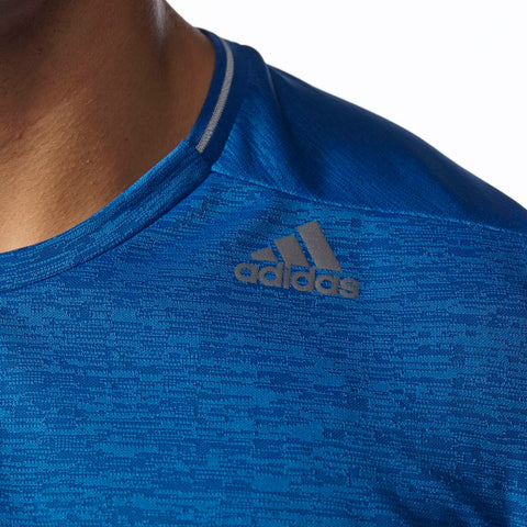 Last 7 x adidas SS16 Mens Supernova Short Sleeve T-Shirts Blue AK2094 rrp£31 Only £7.99