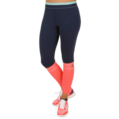 26 x adidas Stella McCartney STELLASPORT Women's Long Glow Running Tights AP6179 rrp£40 Only £11.59