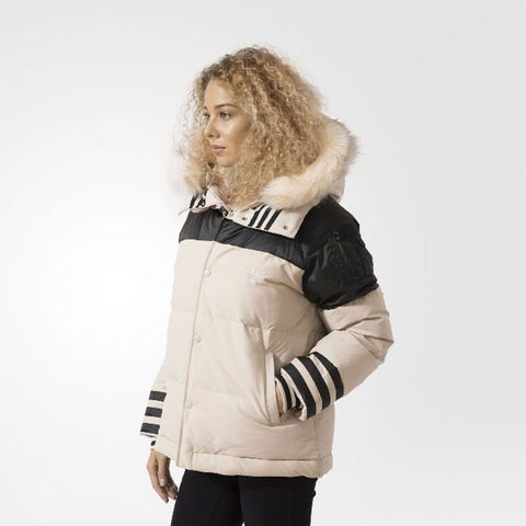 Last 8 x adidas Originals Womens Feminine Duck Down / Feather Winter Jacket AY4811 rrp£150 Only £39.99