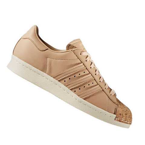 Last 15 x Rare adidas Originals Superstar 80s Cork Womens Trainers (BA7604) rrp£100 Now Only £19.99!!