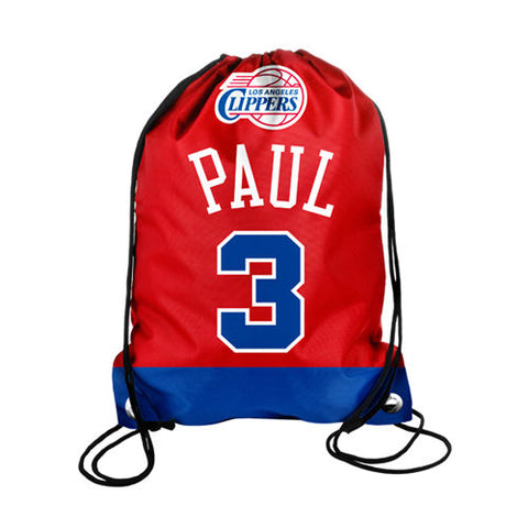 185 x Official NBA Player Drawstring Backpack (Boston Celtics / Chicago Bulls / Los Angeles Lakers etc rrp£15 CLEAR ALL 99p !!!!