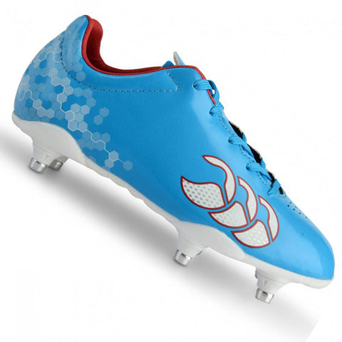 Last 23 x Canterbury Speed Club 6 Stud Junior Rugby Boots rrp£45 Only £12.19