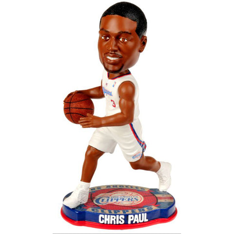 85 x Official NBA Bobble Heads (Los Angeles Clipppers Paul C/ Cleveland Cavaliers Irving K / Lebron James #06 rrp£30 CLEAR ALL £4.29 !!!!