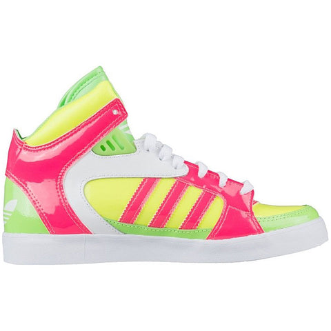 Last 7 x adidas Womens Jeremy Scott Amberlight W Hi-Top Trainers rrp£90 (D65847) Was £26.99 Now £22.99