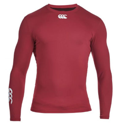 23 x Canterbury Mens Baselayer Tops Rugby, Fitness, Football, Cycling Maroon rrp£35 Only £8.39!!