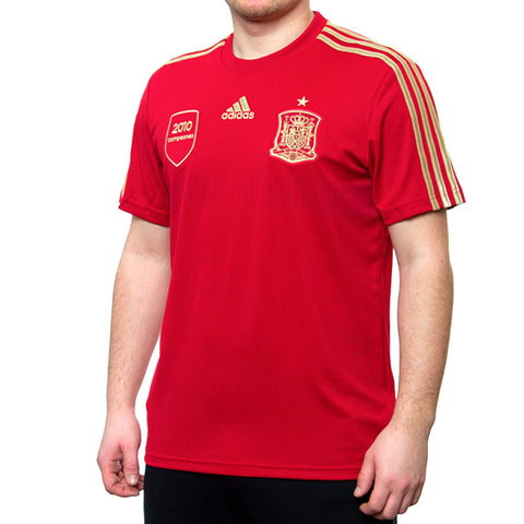 Last 33 x adidas Spain Home Replica t-shirt G85232 rrp£30 Only £7.99