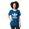 Last 12 x adidas Original Trefoil Logo Womens Boyfriend T-Shirts rrp£40 (AY8113) - Incredibly Now Only £8.49