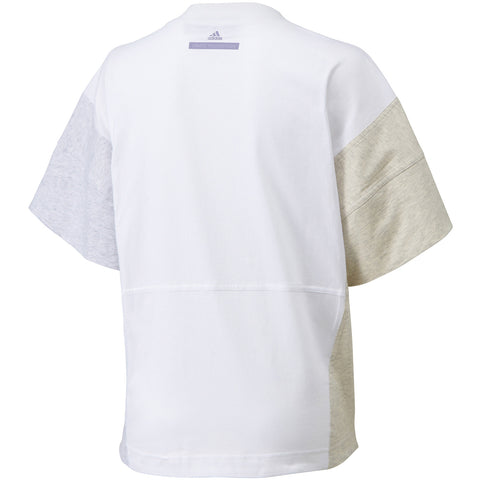 10 x adidas By Stella McCartney Essentials Womens Logo Tee / T-Shirt White rrp£45 - Only £10.99 each