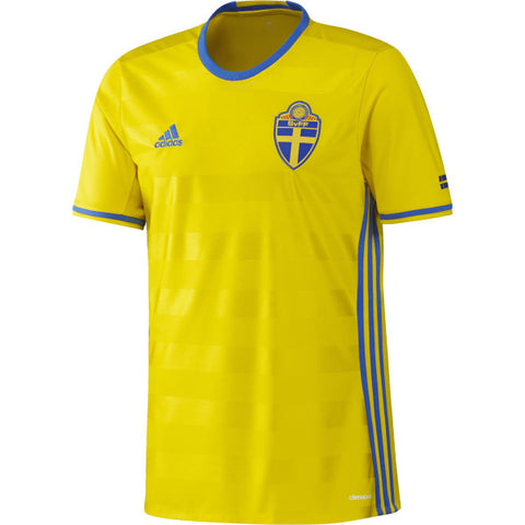 21 x adidas Performance Mens Sweden Football Jerseys (AI4748) rrp£70 - Incredibly Only £13.99
