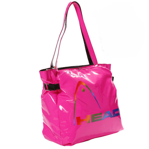 77 x Head Fusion Glossy PU Shopper Tote Shopping / Handbag rrp£25.00 Only £3.99