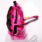 77 x Head Fusion Glossy PU Shopper Tote Shopping / Handbag rrp£25.00 Only £3.89