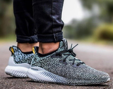 10 x adidas Alphabounce M Aramis Turtle Dove Mens Running Trainers B54366 rrp£160 (Selling on eBay for £105) Only £22.99