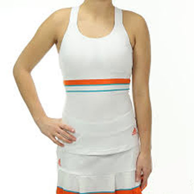 Last 14 x adidas Ladies Premium ST Tennis Tank Tops AJ3202 rrp£30 Only £8.49