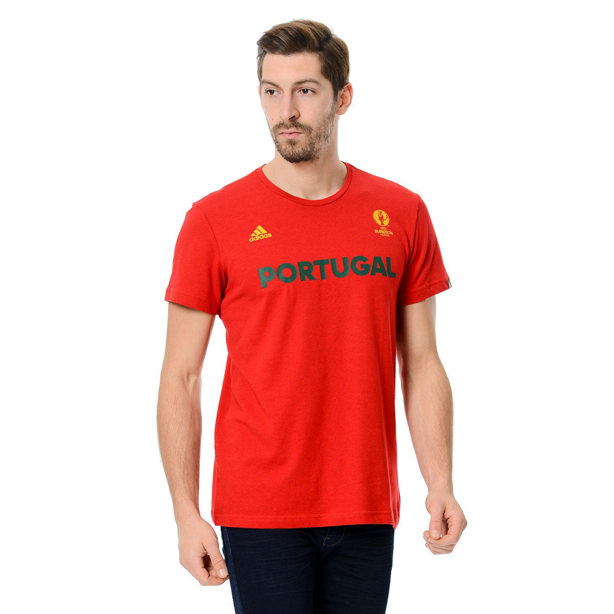 43 x adidas Euro 2016 Portugal Football B Grade T-Shirts rrp£25 Only £2.99 each - IN STOCK IMMEDIATE DELIVERY