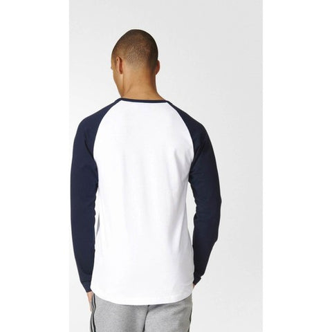 Last 14 x adidas Originals Men's Long Sleeved Trefoil T-Shirt rrp£40 (AY7804) - Only £9.49