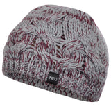 Last 26 x adidas NEO Womens Chunky Cable Knit Warm Berets (M65888) rrp£14 - Was £2.99 Now £1.99
