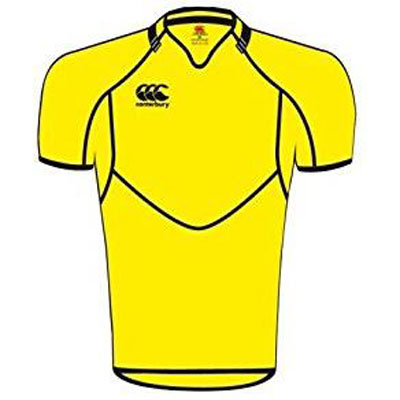 18 x Canterbury Mens Conversion Yellow Rugby Jerseys (B13429 241) rrp£45 - Now Only £5.39