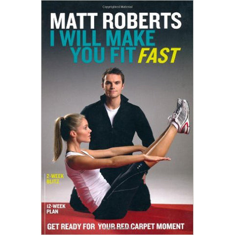 40 x Matt Roberts Make You Fit Fast Books rrp£12.99 Only £1.69 NO VAT!!!