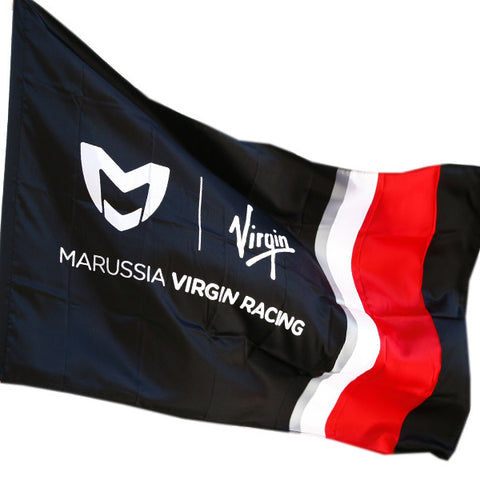 100 x Marussia Virgin Racing F1 (MV06F) Team Flag rrp£12.95 Now Only 49p