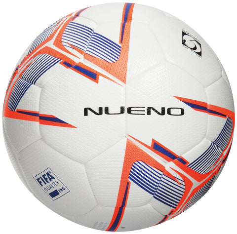 20 x Precision Nueno FIFA Quality Match Footballs - White/Deep Blue/Fluo Orange Size 4 rrp£35 Only £13.99