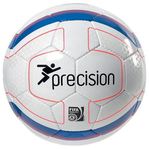 20 x Precision Rosario FIFA Approved Match Footballs (White/Blue/Orange) Size 4 rrp£35 Only £13.99