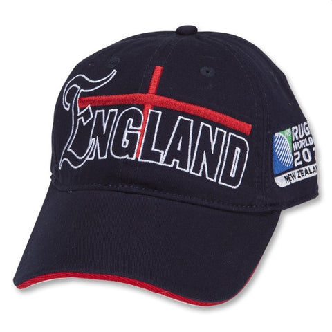 Last 90 x England Official Rugby World Cup Baseball Caps rrp£20 Now Only £0.99 !!