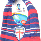 94 x Official England Rugby League World Cup 2013 Supporters Alpine Beanie rrp£18. Only £0.49p!!