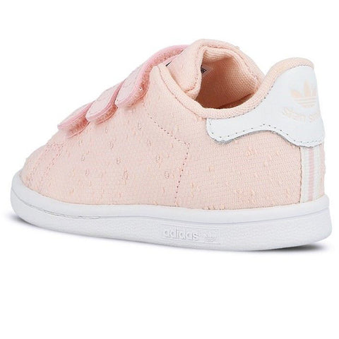 Last 15 x adidas Infant Girls Stan Smith Trainers Pink S32179 rrp£50 Only 12.82