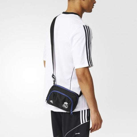Last 24 x adidas Real Madrid Pouch Bag Organizer rrp£30 (S94922) - Incredibly Now Only £4.99