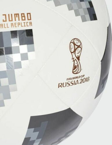 6 x adidas World Cup Official FIFA Approved Jumbo Sized Footballs (CG1567) rrp£270.00 - Only £58.49!!