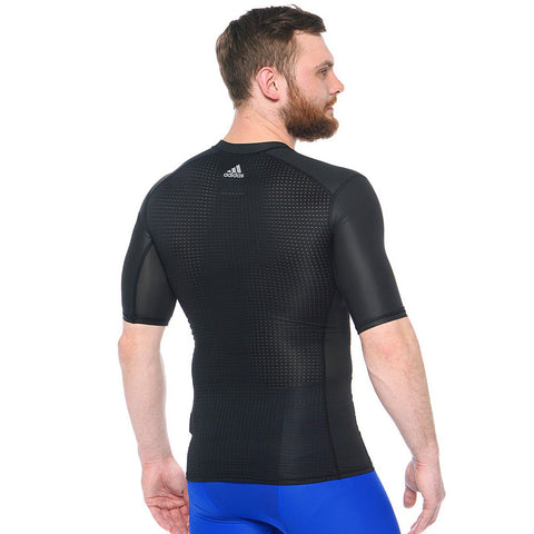 18  x adidas Techfit ClimaChill Mens  Compression Shirts (S95740) rrp£40 - Incredibly Only £7.99
