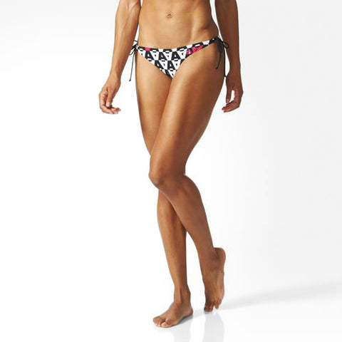 Last 14 x adidas Womens Separates Allover Sexy Cut Bikini Slip Bottoms (AJ7933) rrp£18 - Incredibly Only £2.99