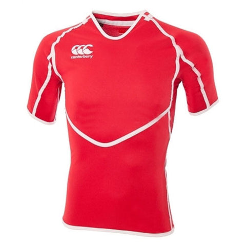 20 x Canterbury Mens Conversion Red Rugby Jerseys (B13429 409) rrp£45 - Now Only £5.39