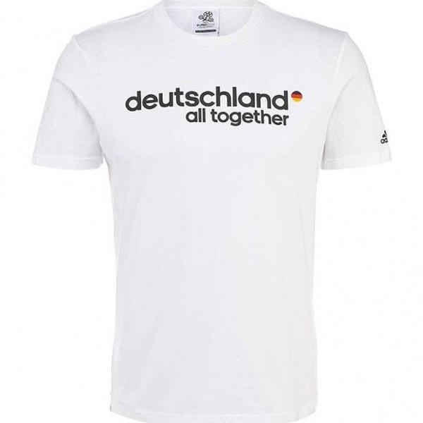 86 x adidas adidas Deutschland Graphic Men's Fan T-Shirt X25748 B-Grade - rrp£30 Only £3.99!!