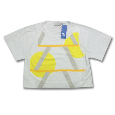 Last 42 x adidas Originals Stella McCartney Weekender Graphic Crop T-Shirts (X35675) rrp£40 Only £1.99