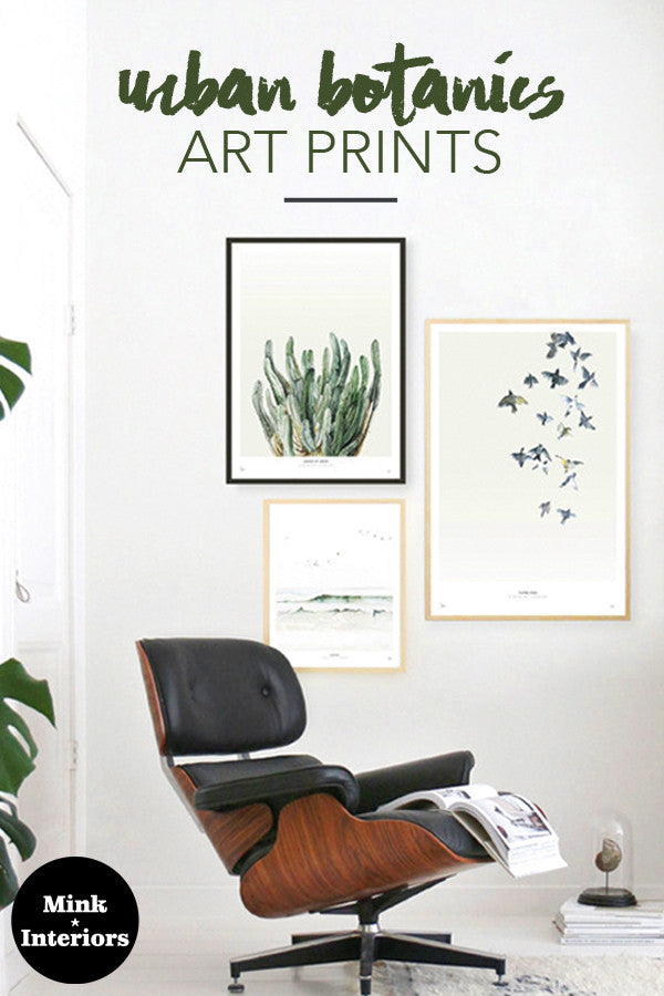 New Arrivals: Urban Botanics Art Prints
