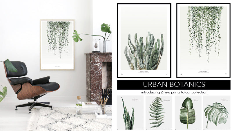 String Of Pearls And Shades Green Are The Must Haves For Adding Instant Impact To Your Walls A Nod This Years Key Interior Trend All Things