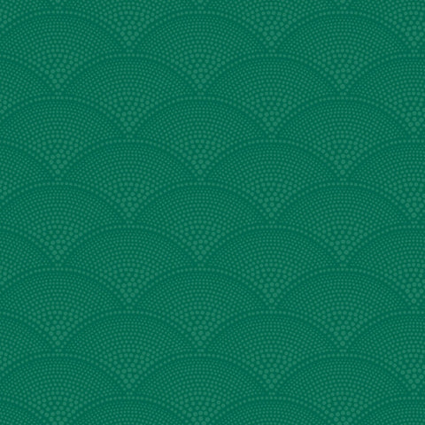 Feather Fan in Emerald Green by Cole + Son