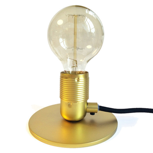 Compact Table Light - Brushed Brass
