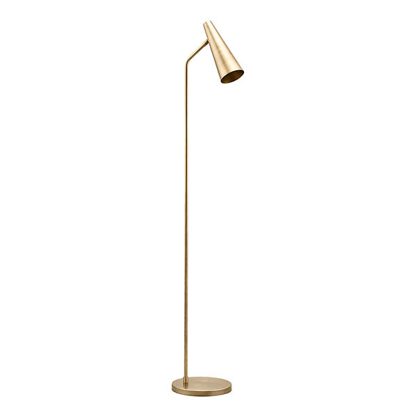 Perry Floor Lamp - Brushed Brass