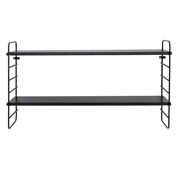 Double Shelf in Black