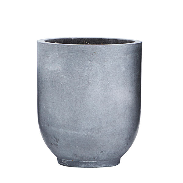 Grey Concrete Planter - Medium