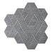 Fold Cement Tiles - Salmiak + Pure White