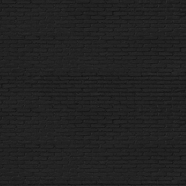 NLXL Materials Collection - PHM-33 Black Brick Wallpaper by Piet Hein Eek
