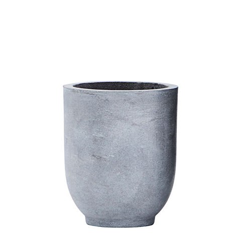 Grey Concrete Planter - Small