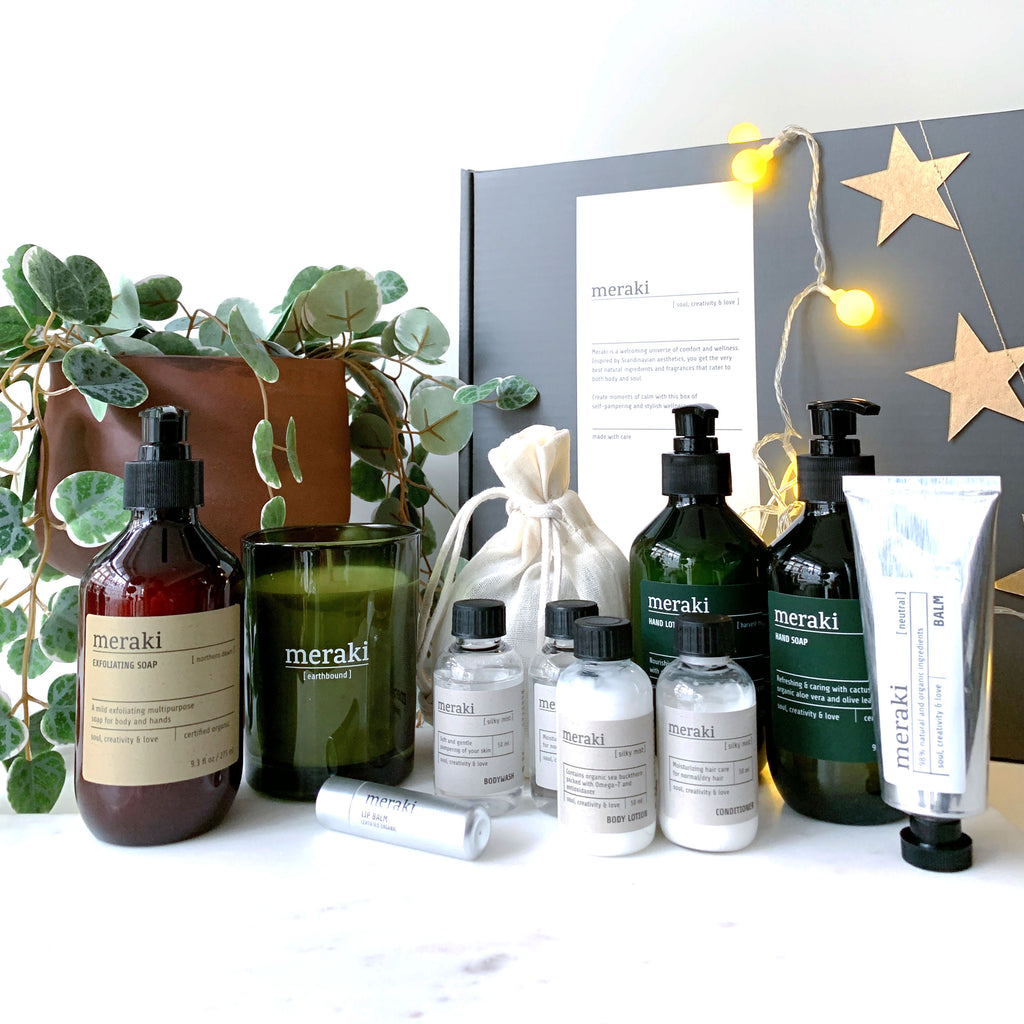 Scandi Wellbeing Gift Box No. 1 - Organic + With Essential Oils (Large)